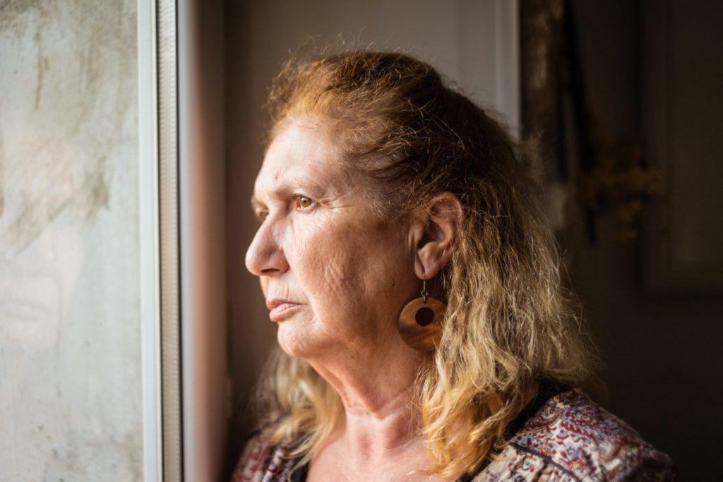 """Dominique Giacomoni (62) gehört zu den """"Donne di Manca"""" (""""Linke Frauen""""), einer feministischen und sozialistischen Unabhängigkeitsbewegung, die für die korsische Selbstverwaltung kämpft."""